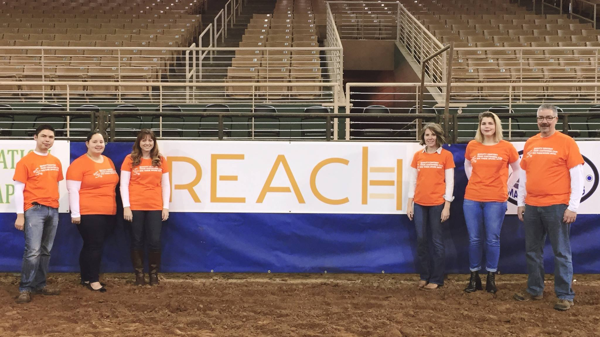 Reach team at Silver Spurs Rodeo